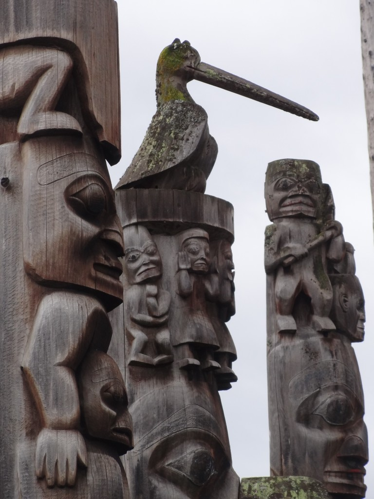 Totems Poles- Kitwanga, BC