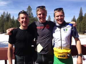 Elite Team on the Gold Rush Podium