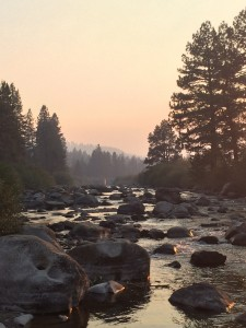 A low Truckee River