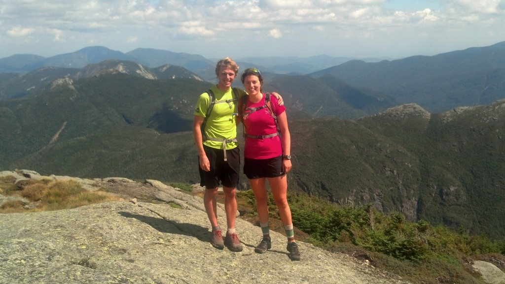 Summit of Mt Marcy! Highest point in New York, but still a little ways below the elevation us Far Westers live and train at...