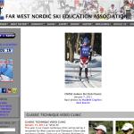 Far West Nordic website