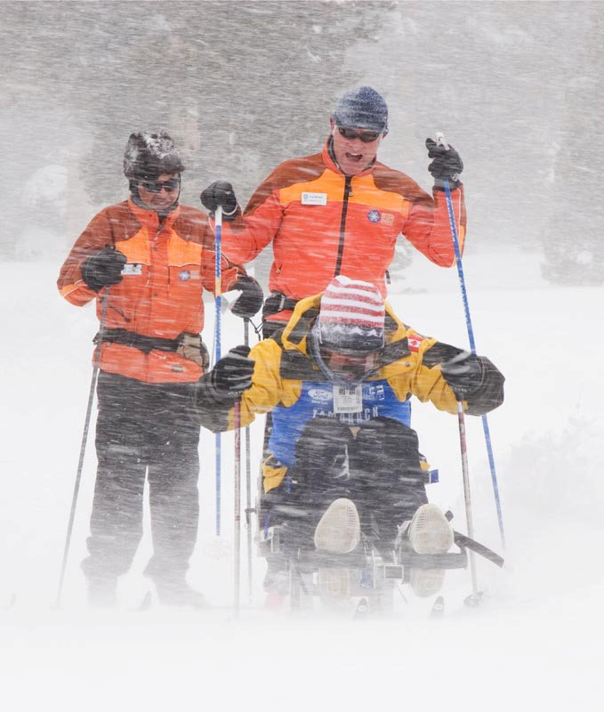 Mammoth Biathlon 2011 wounded warrior