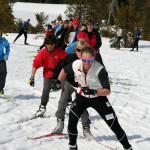 Juniors Ski with Kikkan