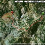 Squaw Valley Mountain Run route
