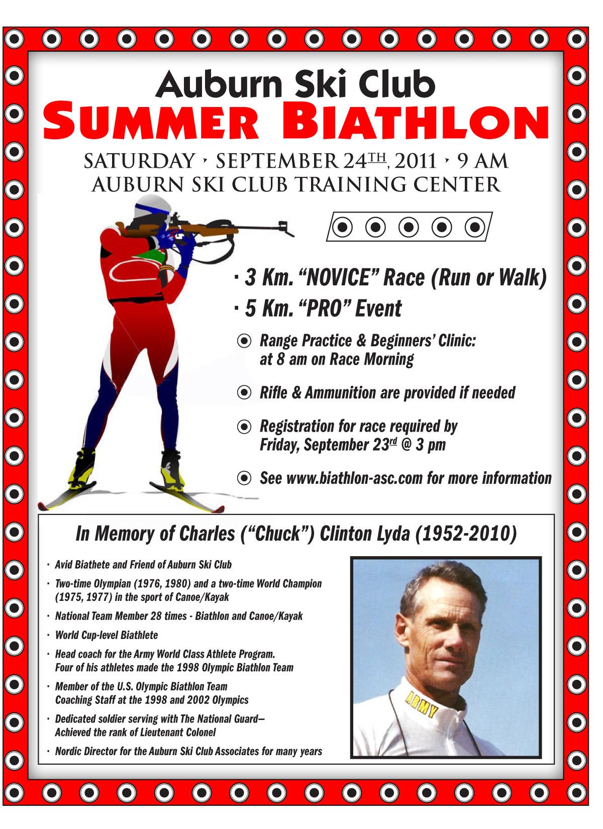 Chuck Lyda Memorial Summer Biathlon
