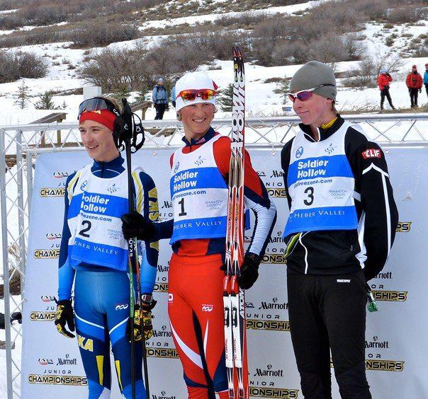 J2 podium