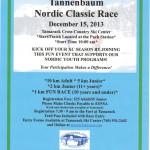 Tannenbaum Race 2013 Flyer